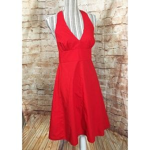 MODA INTERNATIONAL A-Line Halter Dress, SZ 14, EUC